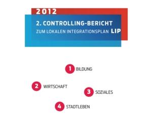 Screenshot der Titelseite des 2. Controlling-Berichts des LIP