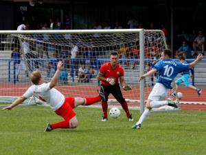Spielszene des Internationalen Hannover Cups 2012
