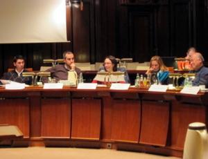 Bilder von der Sitzung des Interantionalen Ausschusses am 2013-01-24