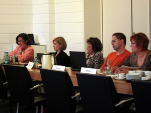Bilder von der Sitzung des Internationalen Ausschusses am 6. September 2012