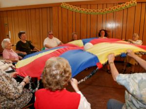 Gemeinschaftsaktivität im Anni-Gondro-Pflegezentrum im Eichenpark