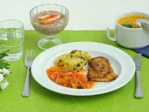 Eine Mahlzeit im Klaus-Bahlsen-Haus