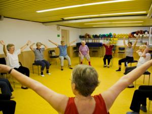 Ein Rheuma-Seminar im Margot-Engelke-Zentrum