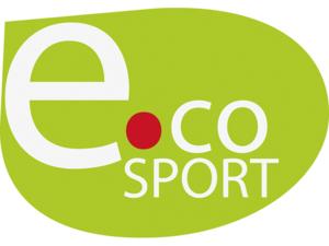 Grünes e.coSport-Logo