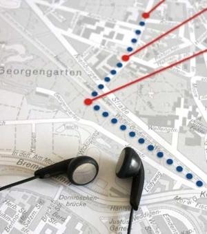 Titelbild des Audioguide-Stadtplans