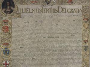 Historisches Dokument.