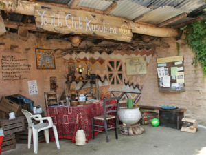 Afrika-Hütte.