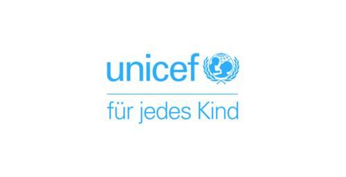 """Logo """"UNICEF - für jedes Kind"""""""