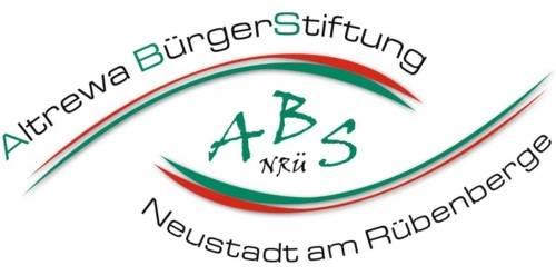 Logo mit der Schrift Altrewa Bürgerstiftung Neustadt am Rübenberge und den Buchstaben A B S N R Ü