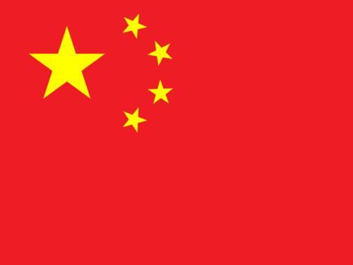 Flagge Chinas
