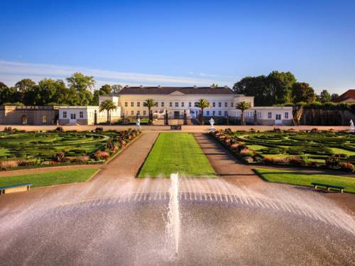 Großer Garten und schloss Herrenhausen