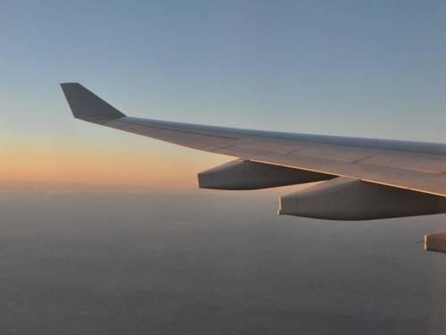 Fläche eines Verkehrsflugszeugs