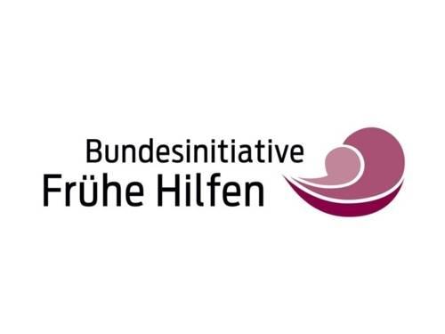 "Logo bzw. Schriftzug ""Bundesinitiative Frühe Hilfen"""