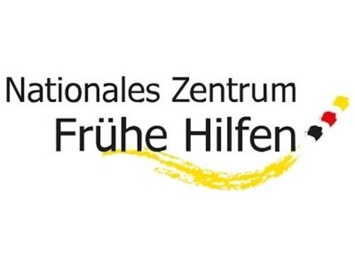 """Logo bzw. Schriftzug """"Nationales Zentrum Frühe Hilfen"""""""