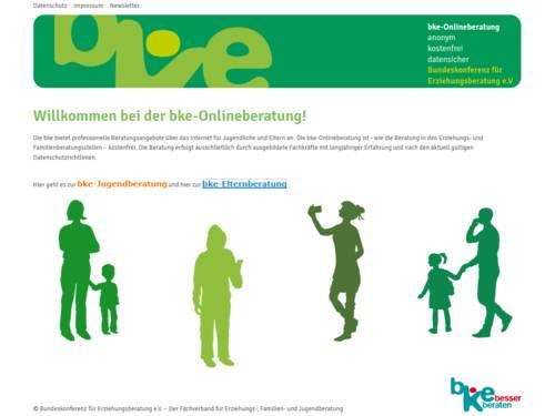 Vorschau auf www.bke-beratung.de