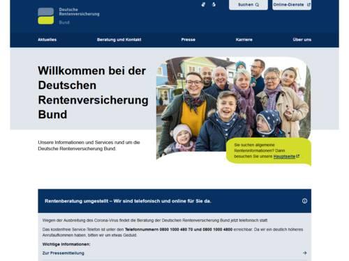 Vorschau auf deutsche-rentenversicherung.de