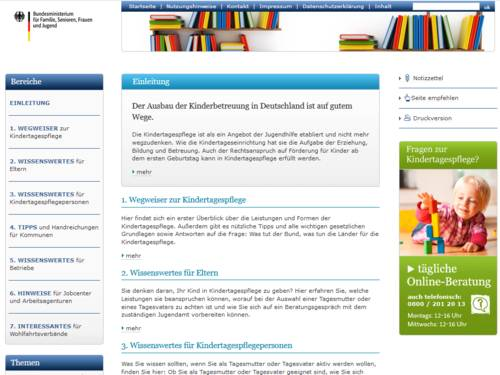 Vorschau auf handbuch-kindertagespflege.de