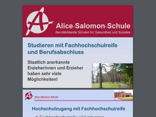 Vorschau auf ein PDF-Dokument der Alice-Salomon-Schule