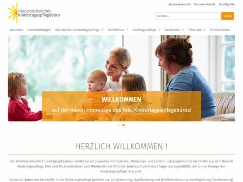 Vorschau auf kindertagespflege-nds.de