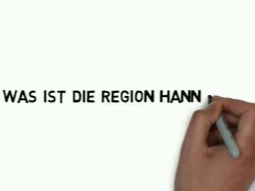 """Vorschau auf das Erklärvideo """"Was ist die Region Hannover""""."""