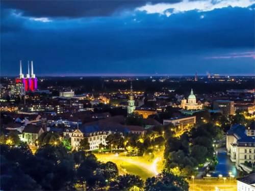 Hannover aus der Luft