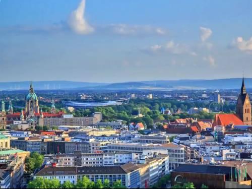 Blick über Hannover