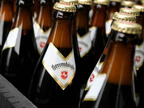 Flaschen der Privatbrauerei Herrenhausen