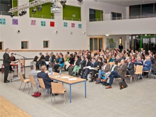 Einwohnerversammlung in Ahlem-Badenstedt-Davenstedt.