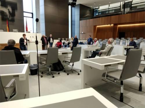 Besuch des Runden Tisch Inklusion im Nds. Landtag.