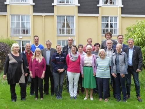 Gruppenbild vom Seniorennetzwerk Bothfeld-Vahrenheide.