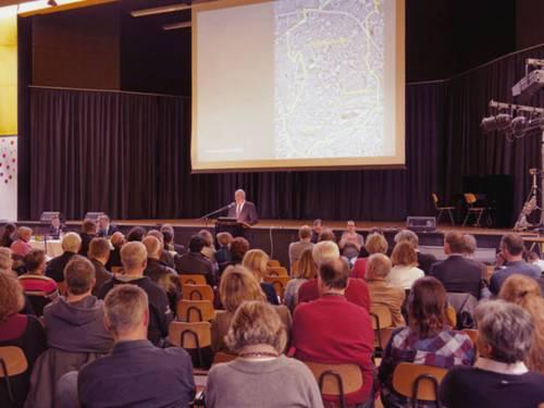 Einwohnerversammlung Buchholz-Kleefeld.