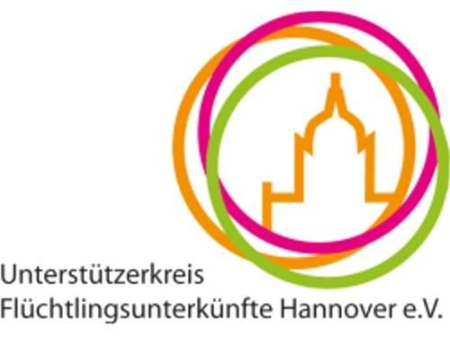 Logo Unterstützerkreis Flüchtlingsunterkünfte Hannover e.V.