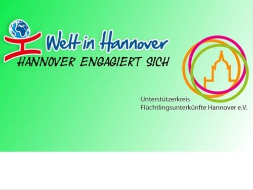 Logo Welt in Hannover - Hannover engagiert sich.