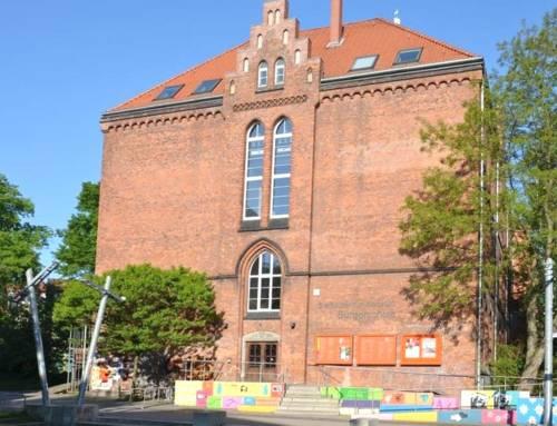 Außenansicht der Bürgerschule im Stadtbezirk Nordstadt
