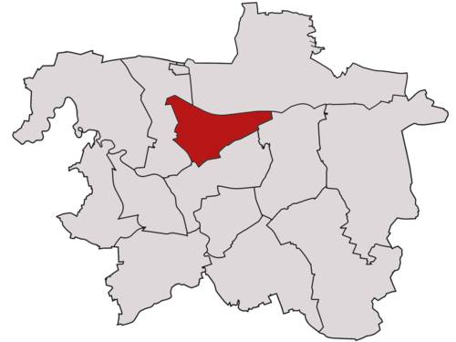 Stadtbezirk Vahrenwald-List