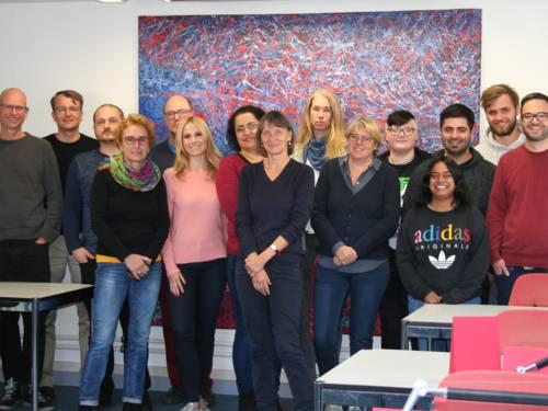 Die Mitarbeiter*innen des Stadtarchivs Hannover
