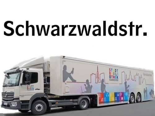 Fahrbibliothekshaltestelle Schwarzwaldstraße