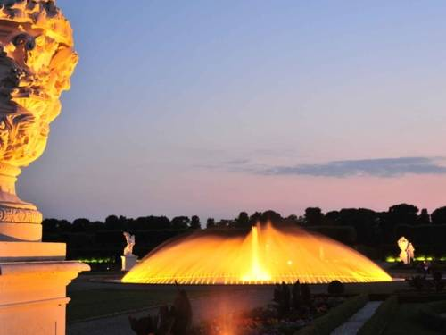 Illumination der Glockenfontäne