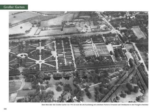Luftbild Großer Garten 1915