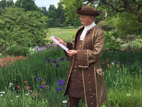 Carl von Linné im Berggarten Herrenhausen