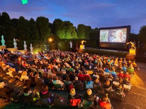 Open Air Kino im Gartentheater