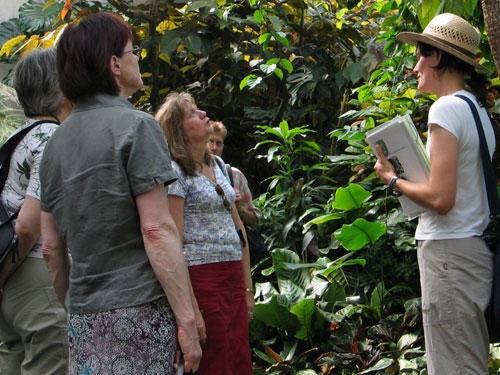 Führung im Berggarten