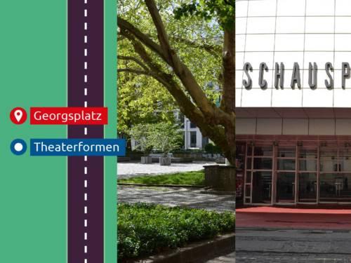 Georgsplatz & Schauspielhaus