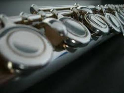 Musikinstrument Querflöte