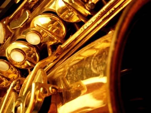Ausschnitt vom Saxophone