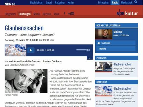 Foto, das die Oberfläche einer Internetseite zeigt.