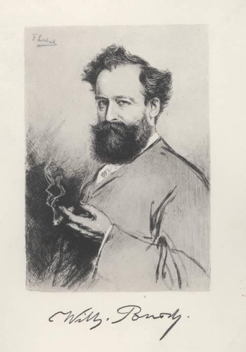 Porträt Wilhelm Busch