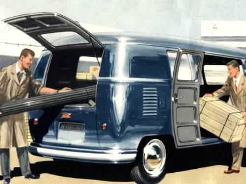 Abbildung Prospekt VW-Transporter (Ausschnitt)