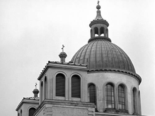 Basilika St. Clemens, Foto von Wilhelm Hauschild, 1960