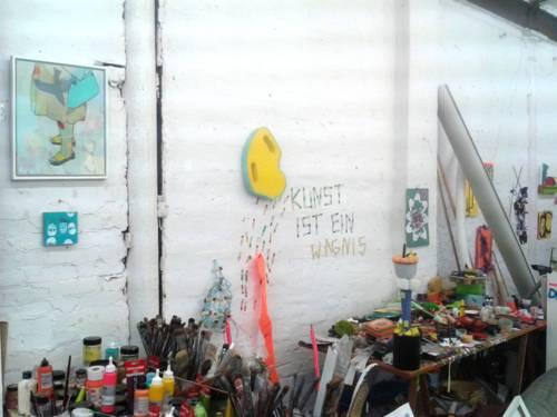 Kunstatelier, ein Ort kreativen Gestaltens